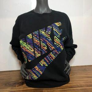 EUC Unisex Vintage Nike 90s Print Crewneck Medium